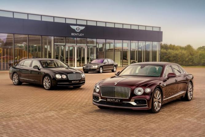 Bentley a produs modelul Flying Spur cu numărul 40.000