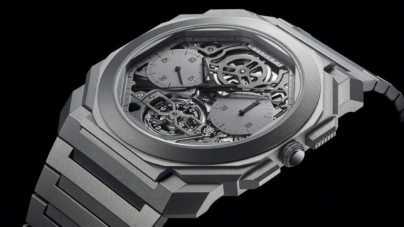 Nou record Bulgari pentru cel mai subțire ceas