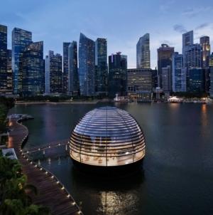 Apple deschide mâine primul său magazin plutitor