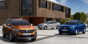 Acestea sunt noile modele Dacia Logan, Sandero și Sandero Stepway