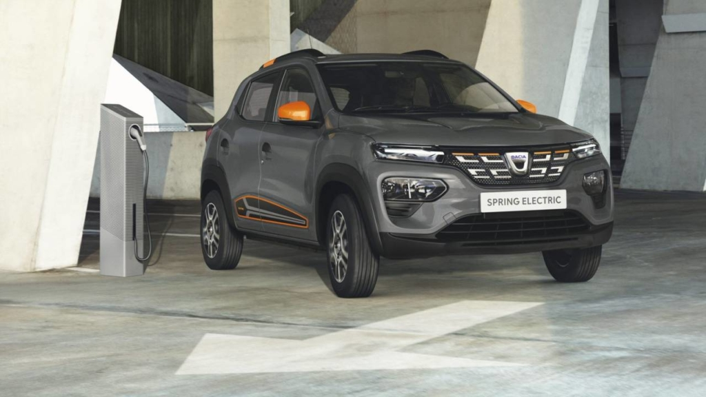 Renault Dacia Spring Electric - dacia electrică (1)