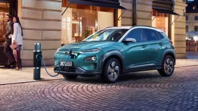 Hyundai cheamă la service 77.000 de SUV-uri Kona electric din cauza unui risc de incendiu