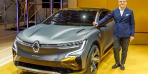 Renault Megane eVision, conceptul care prefigurează un viitor model compact electric