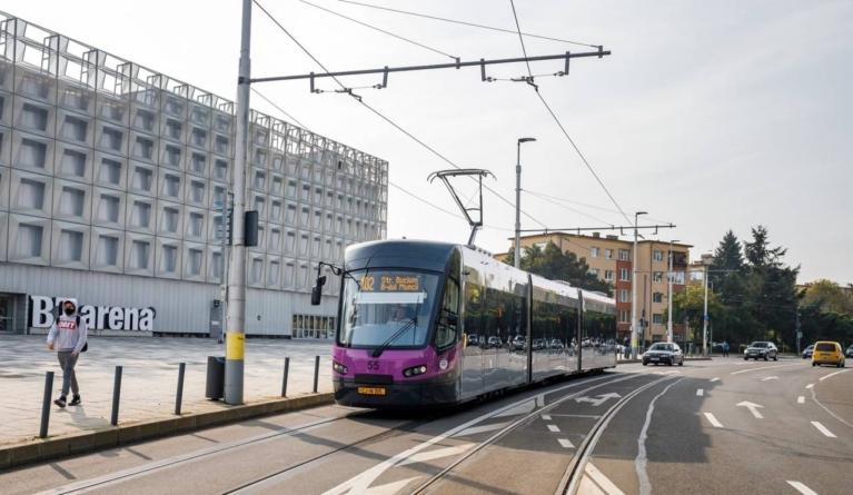 Tramvaie noi, românești, au intrat în circulație la Cluj-Napoca