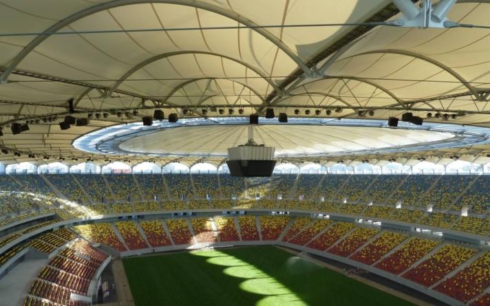 Acoperișul de pe Arena Națională a fost reparat. Lucrările au costat 217.500 lei