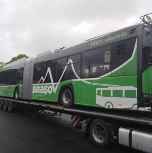 Brașov va avea, în următoarele 12 luni, 25 de noi troleibuze Solaris