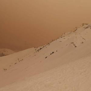 România, din nou afectată de un nor de praf saharian