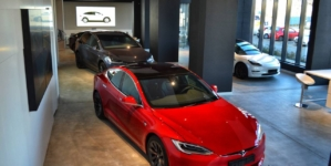 Un showroom independent Tesla se deschide la București