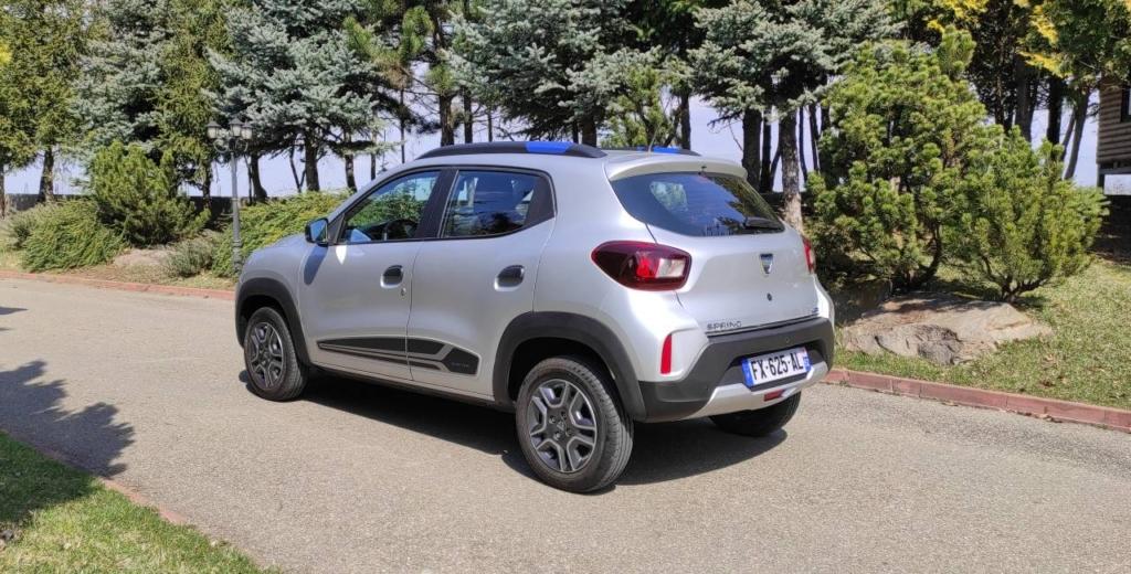 Dacia Spring - test