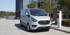 Următoare generație Ford Transit Custom va include o versiune 100% electrică