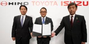 Toyota și Isuzu redevin parteneri. Alianța include și Hino Motors