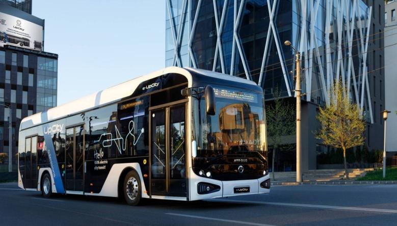 ATP Group: Autobuzul electric e-UpCity poate fi produs, în prezent, în 120-140 unități pe an