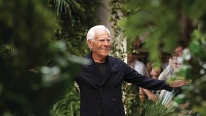 Viitoarea prezentare a colecției masculine Armani se va desfășura cu public