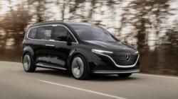 Mercedes-Benz EQT, conceptul unui minivan care va ajunge pe piață în 2022