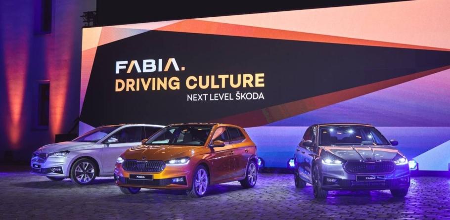 Skoda a prezentat noua Fabia, un model mai mare și mai tehnologizat