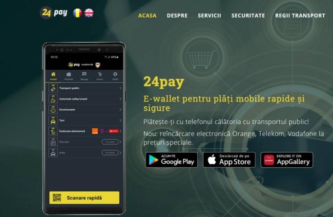 STB schimbă aplicația pentru plata online a călătoriei
