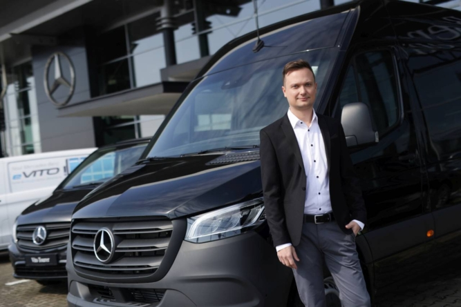 Alexandru Rugină, avansat ca director operațional al Mercedes-Benz Vans România