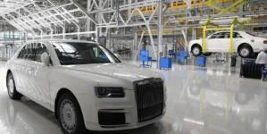 Limuzina cu care Rusia vrea să concureze Rolls-Royce și Bentley a intrat în producție