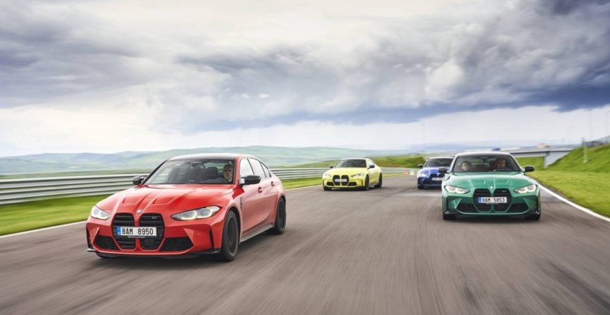 "BMW M Power Day: M3 și M4 Competition au ""uscat"" Transilvania Ring"