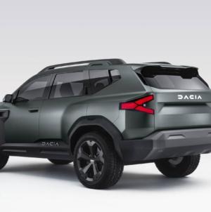 Designul viitoarei generații Dacia Duster îl va copia pe cel al lui Bigster