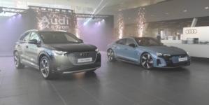 Noile Audi e-tron GT și Q4 e-tron, prezentate oficial în România