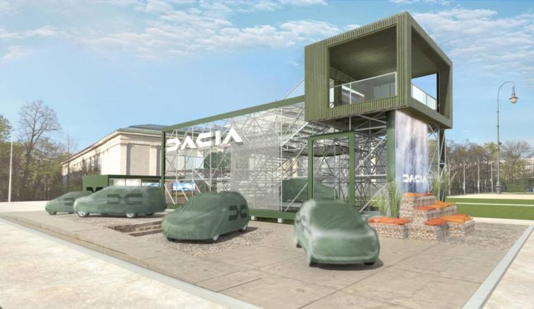 Dacia anunță premiera mondială a unui vehicul cu șapte locuri la IAA Munchen