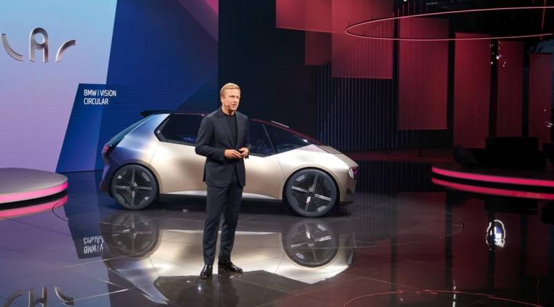 IAA Mobility: BMW i Vision Circular, un exponent al economiei circulare