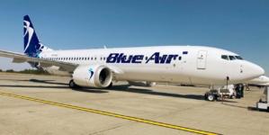 Flota Blue Air a primit o a patra aeronavă Boeing 737-8 Max