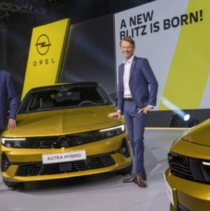 Premiera mondială a modelului Opel Astra a avut loc astăzi la Rüsselsheim