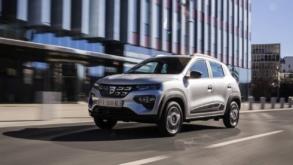 Abia ajunse la clienți, modele Dacia Spring sunt de vânzare pe OLX