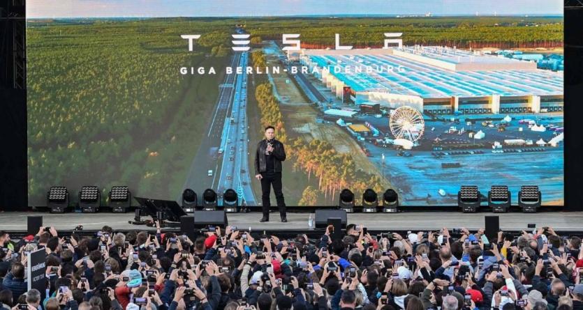 Festival Tesla lângă Berlin: Uzina va produce între 5.000 și 10.000 mașini pe săptămână