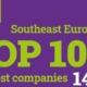 Top 100 Cele Mai Mari Companii din Europa de Sud-Est: 7 dintre primele 10 sunt firme din România